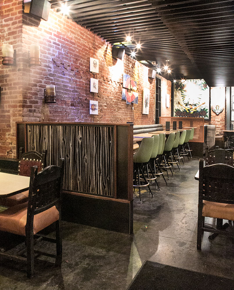 Divider Wall at El Camino Tavern - Custom by Rushton, LLC