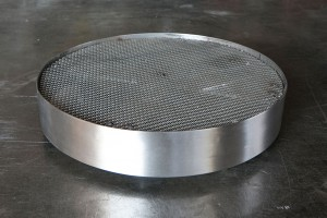 Stainless Steel Rolling Plant Caddy
