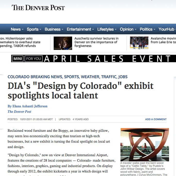 "DIA's ""Design by Colorado"" exhibit spotlights local talent"