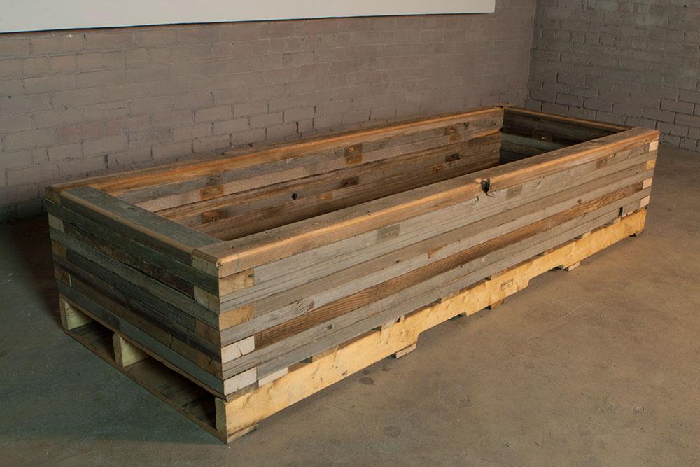 Fantastic reclaimed-raised-garden-bed-planter-5 - Custom by Rushton, LLC IU28